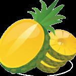 Kā nomizot ananāsu?