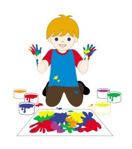 kā pagatavot krāsas bērniem
