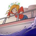 kā pārvarēt jūras slimību